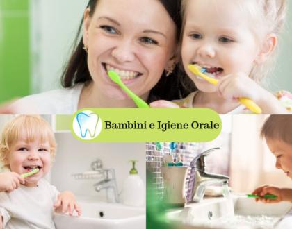 Bambini e Igiene Orale - 5 Consigli
