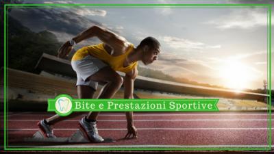 Bite dentale e prestazioni sportive