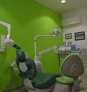 poltrona studio dentista ammendolia velletri