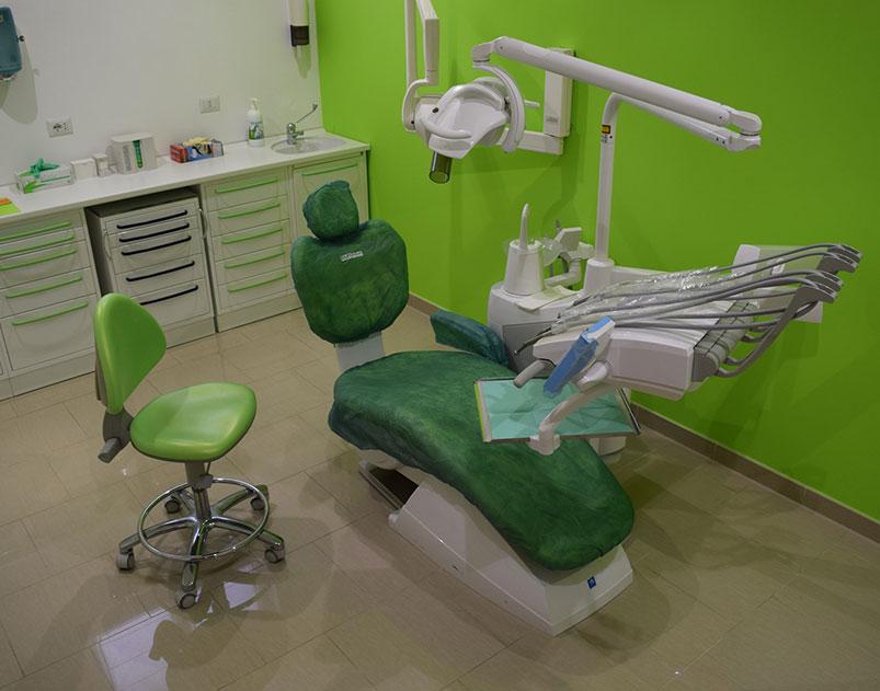 poltrona dentista ammendolia velletri