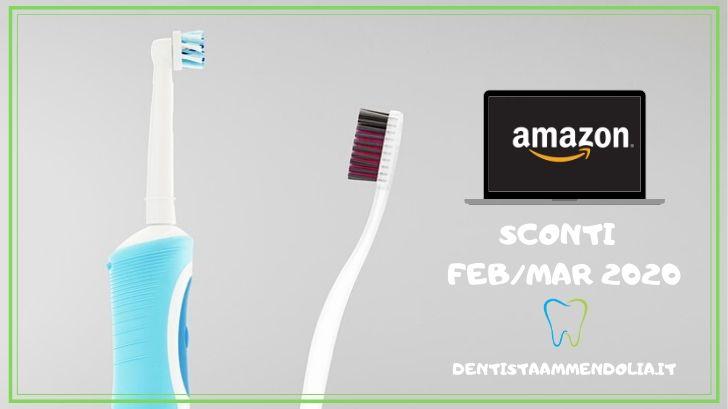 sconti spazzolini amazon dentista ammendolia