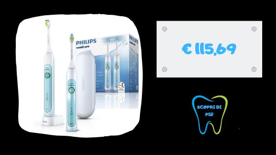 dentistaammendolia spazzolini philips