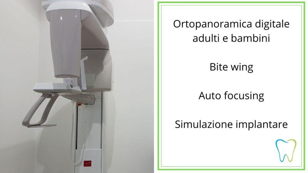 Ortopanoramica dentista velletri ammendolia